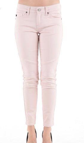 Pink KanCan Denim with Patch Knees
