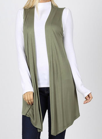 Vest Aline Cardigans available in 3 colors