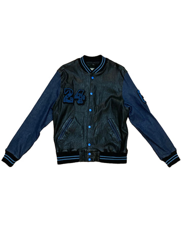 24 Stretch Leather Bomber