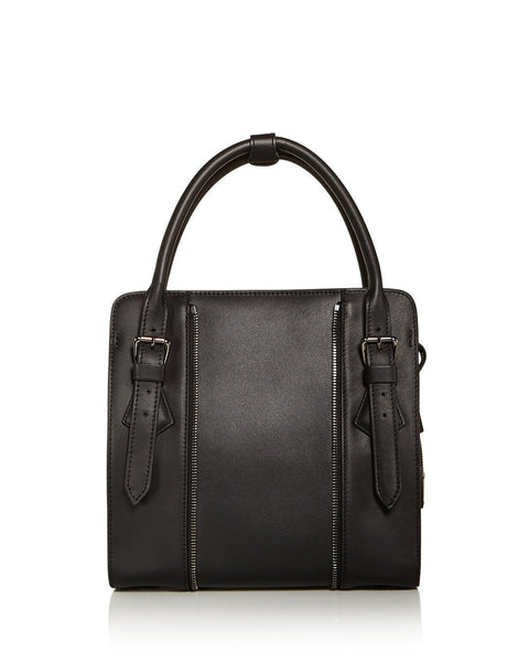 Kiss Small Leather Satchel