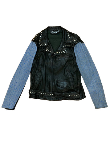 Dream Hand-Painted Leather Biker