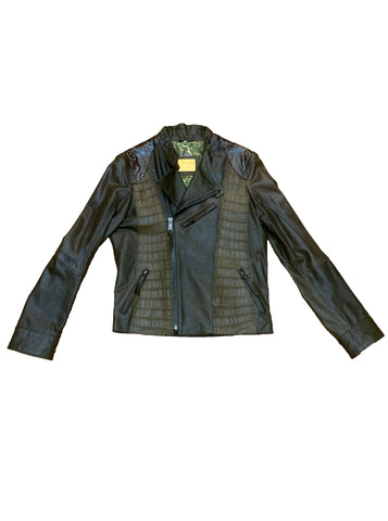 Gator & Snake Leather Biker