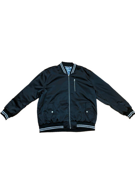Reversible Satin Bomber