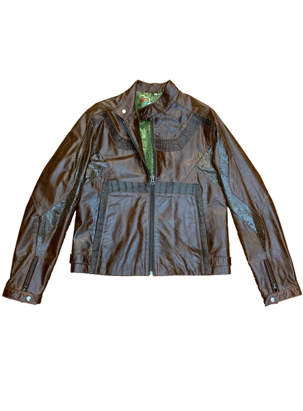 Gator & Snake Leather Jacket