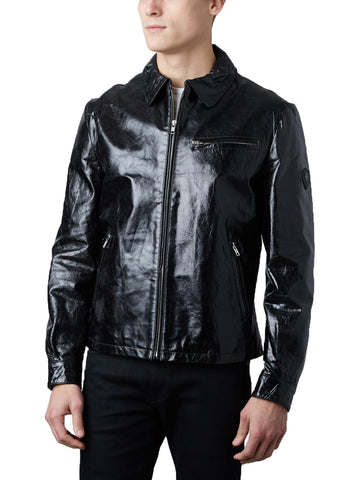 Slim Fit Leather Jacket