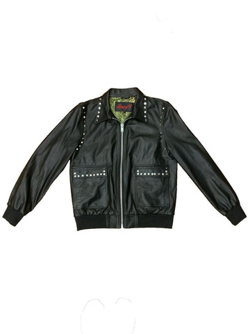 A1 Studded Leather Jacket