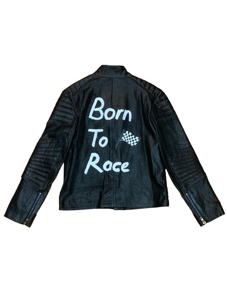 Born to Race Leather Jacket