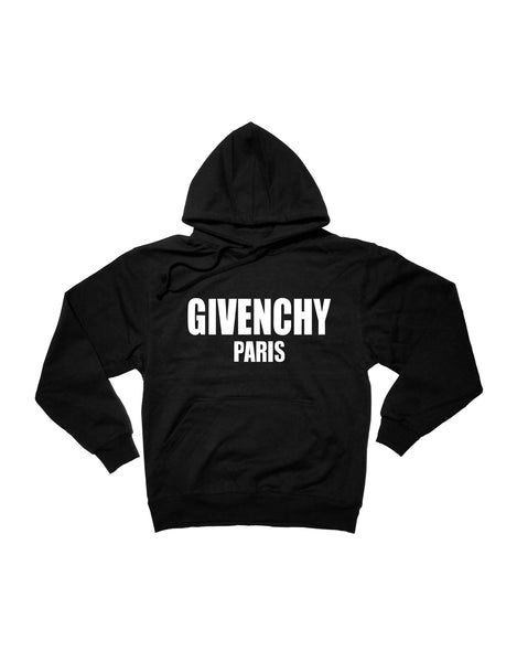 Givenchy Pullover Hoodie (Black) S - XL – WeartheHype 0abd838149c3