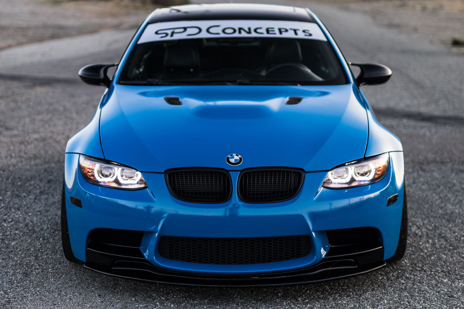 SPDConcepts m3 gts front lip