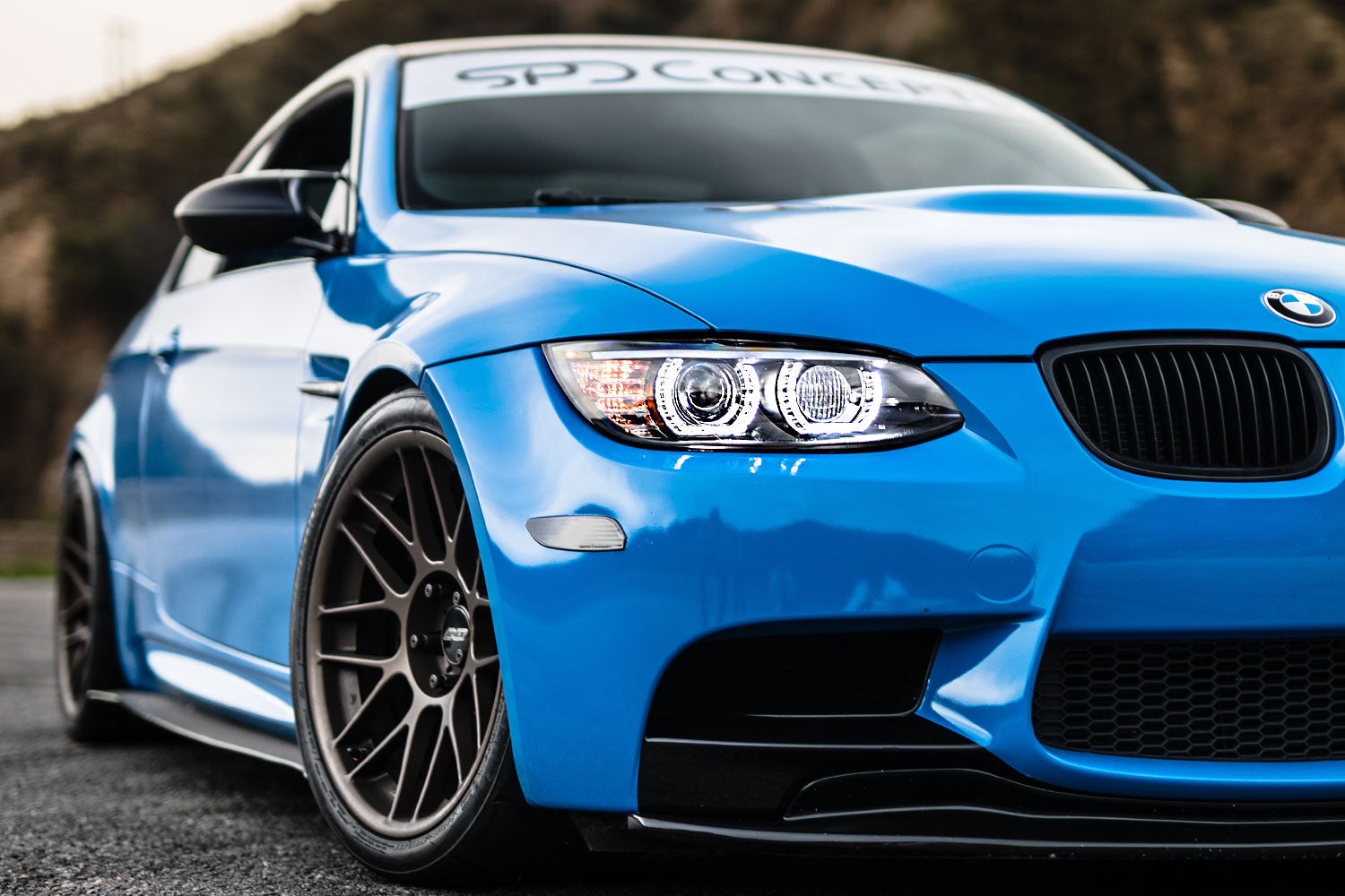 SPDConcepts m3 spyder headlights