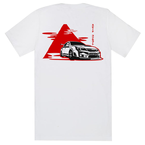 SPDConcepts WRX Mountain Touge Tee Back