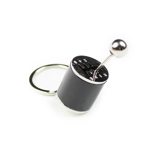 Black Gear Shift Keychain SPDConcepts