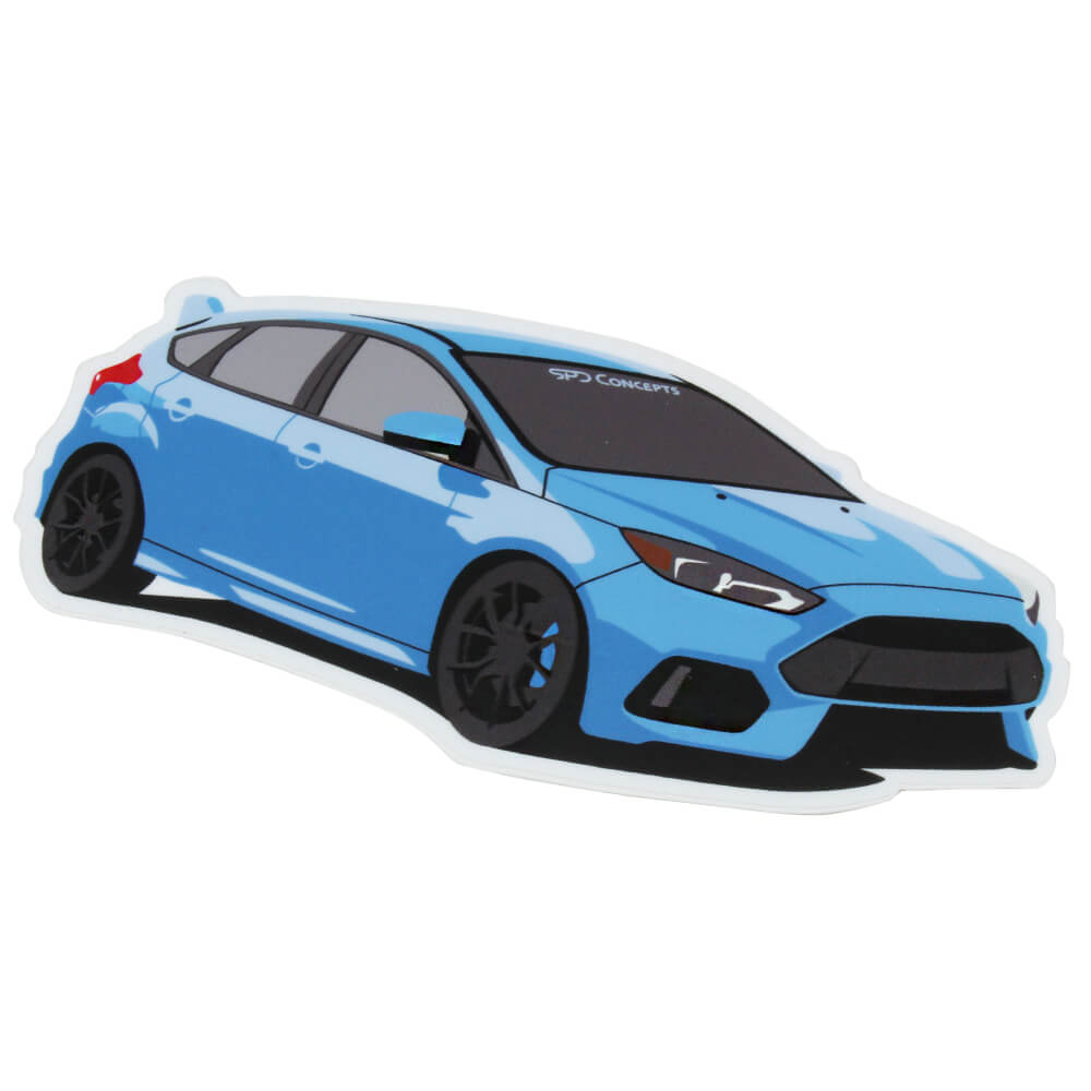 Ford focus rs sticker spdconcepts