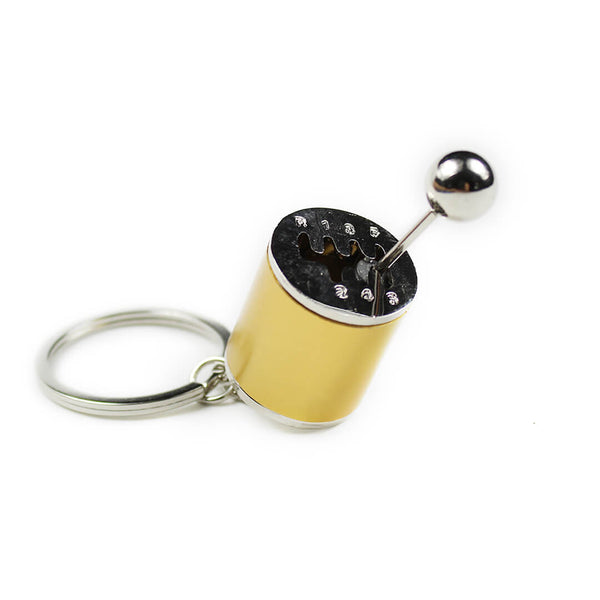 Gold Gear Shift Keychain SPDConcepts
