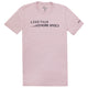 Less Talk More Speed Pink Tee