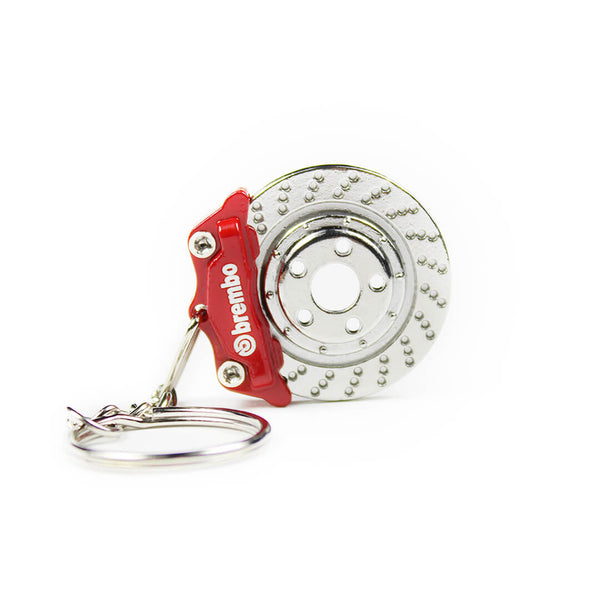 RED Brembo Brake Keychain SPD
