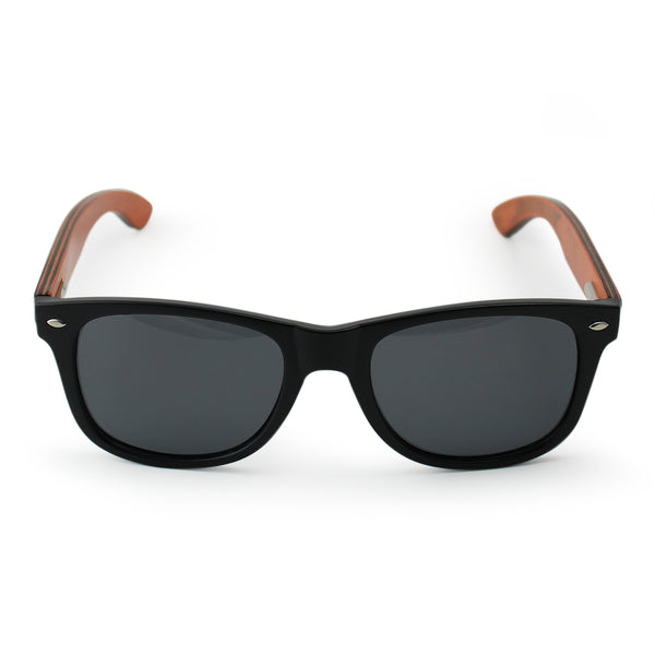 Black Laminated Wood Sunglasses SPDConcepts