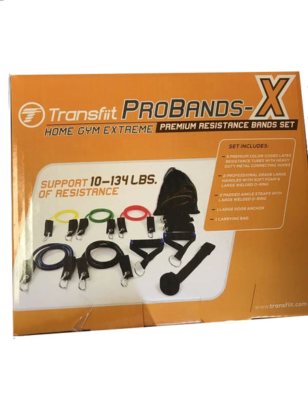 Transfiit probands-x home gym extreme Premium resistance bands set