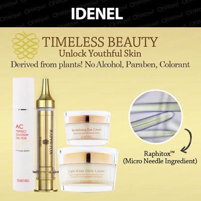 IDENEL Light R-tox Daily cream - 50 ml