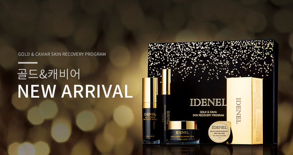 IDENEL GOLD & CAVIAR SKIN RECOVERY PROGRAM