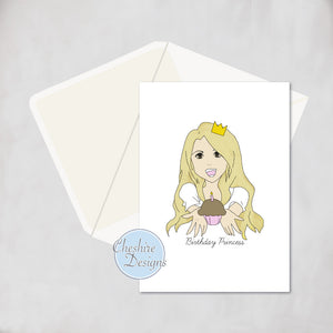 Birthday Princess Birthday Cards