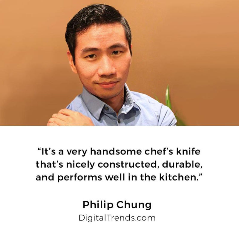 Philip chung, chef knife, kitchen knife, cutlery