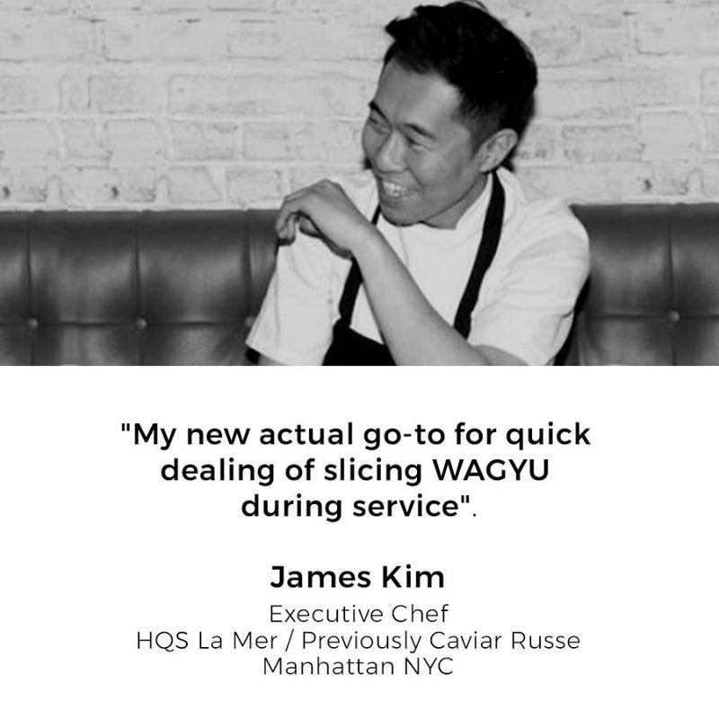 Celebrity Chef, James kim, wagyu beef