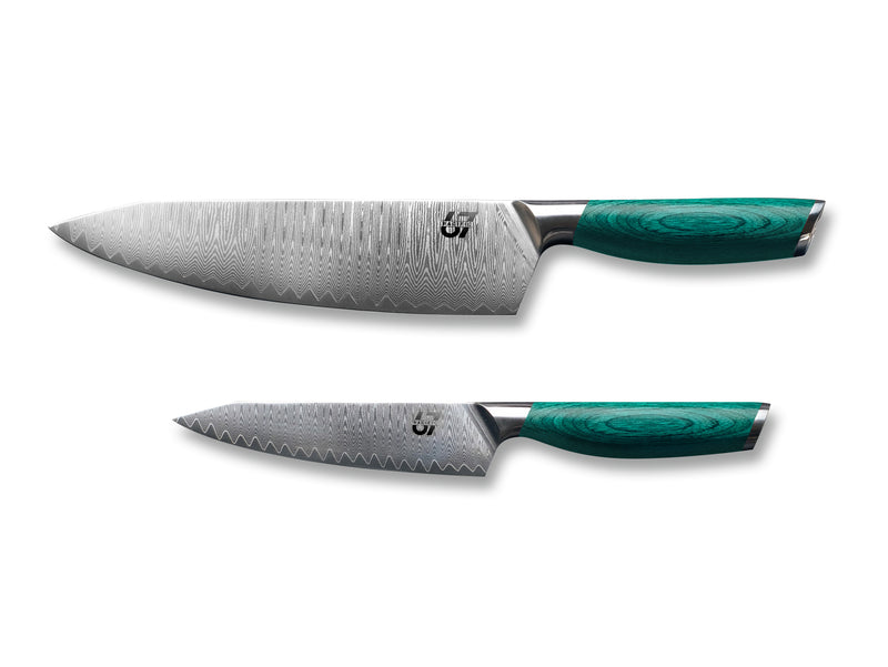"Essentials: 8"" Chef Knife & 5"" Utility Knife - Pacific67 Innovation Studio FZ-LLC"