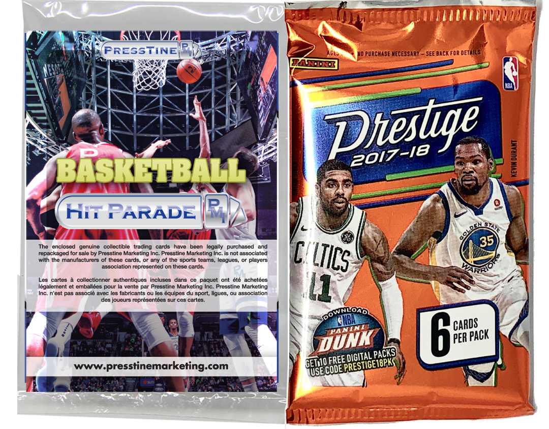 - Presstine Basketball Hit Parade 2017-2018 Panini Prestige Edition