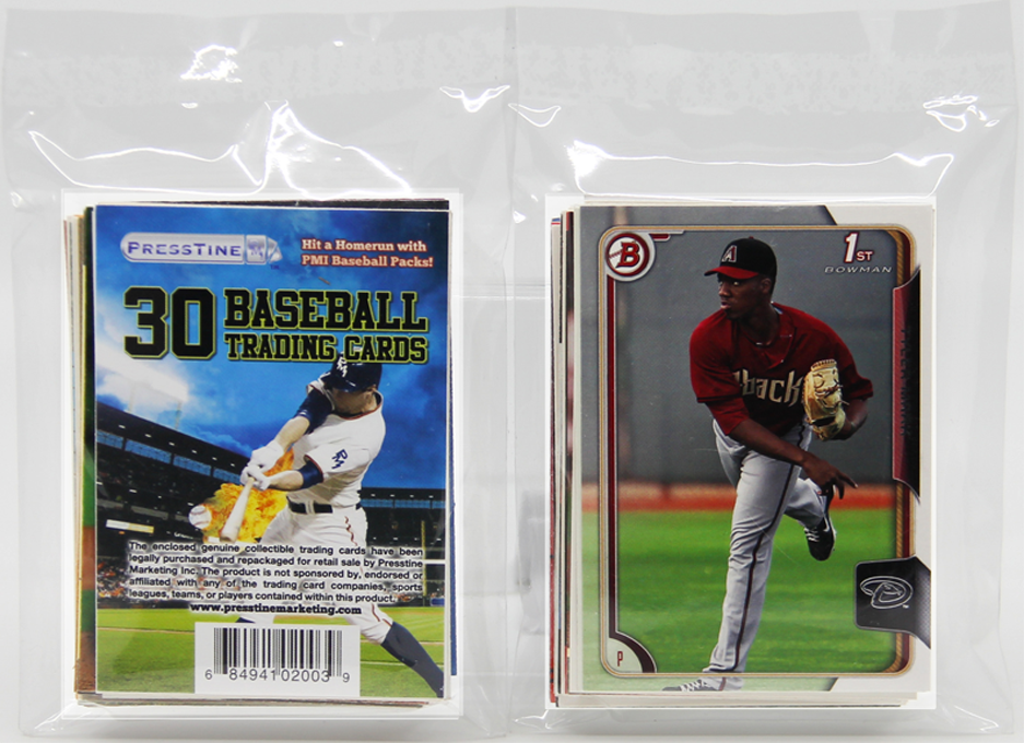 - Baseball 30 Card Presstine Pack