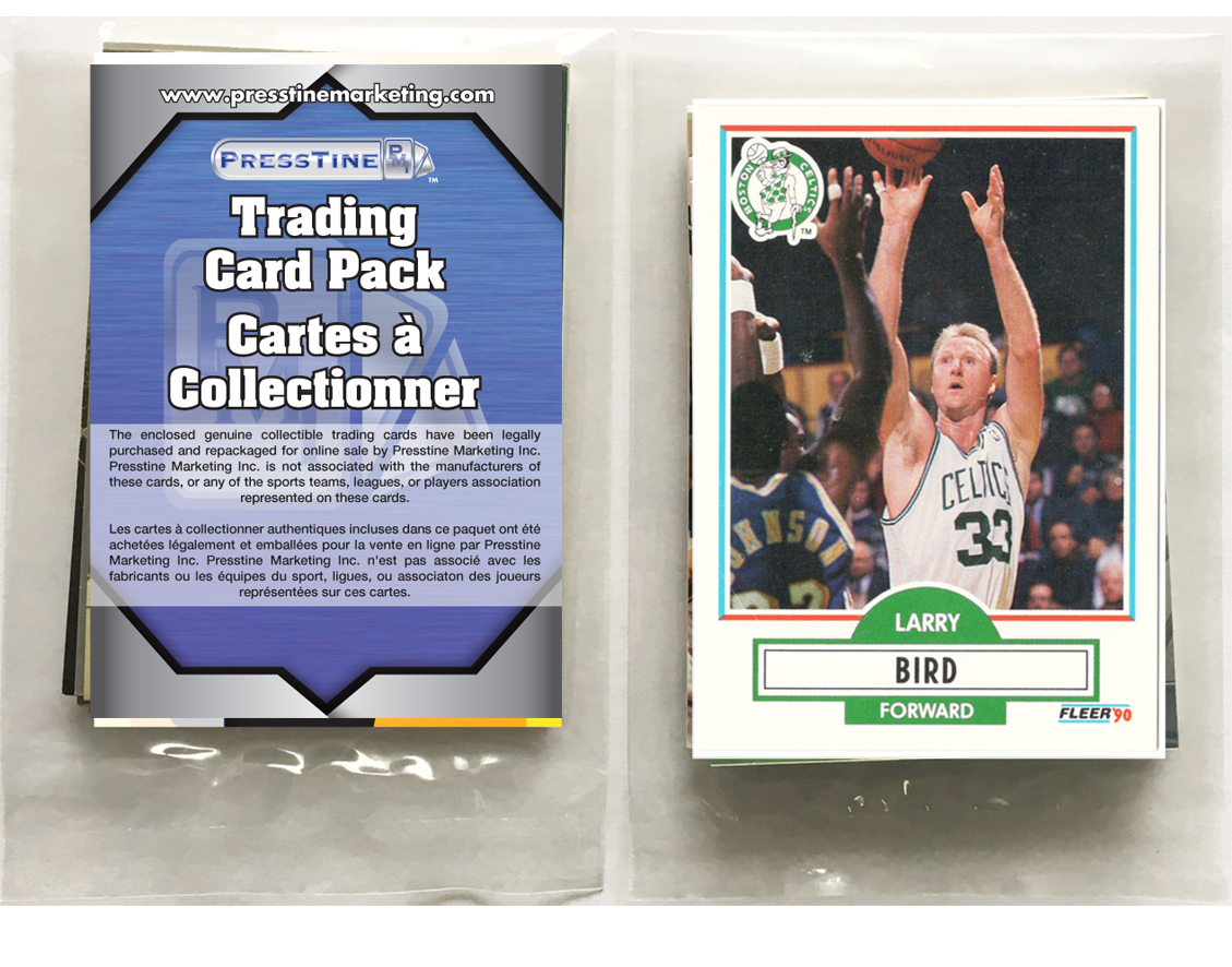 - Basketball 10 Card Presstine Pack