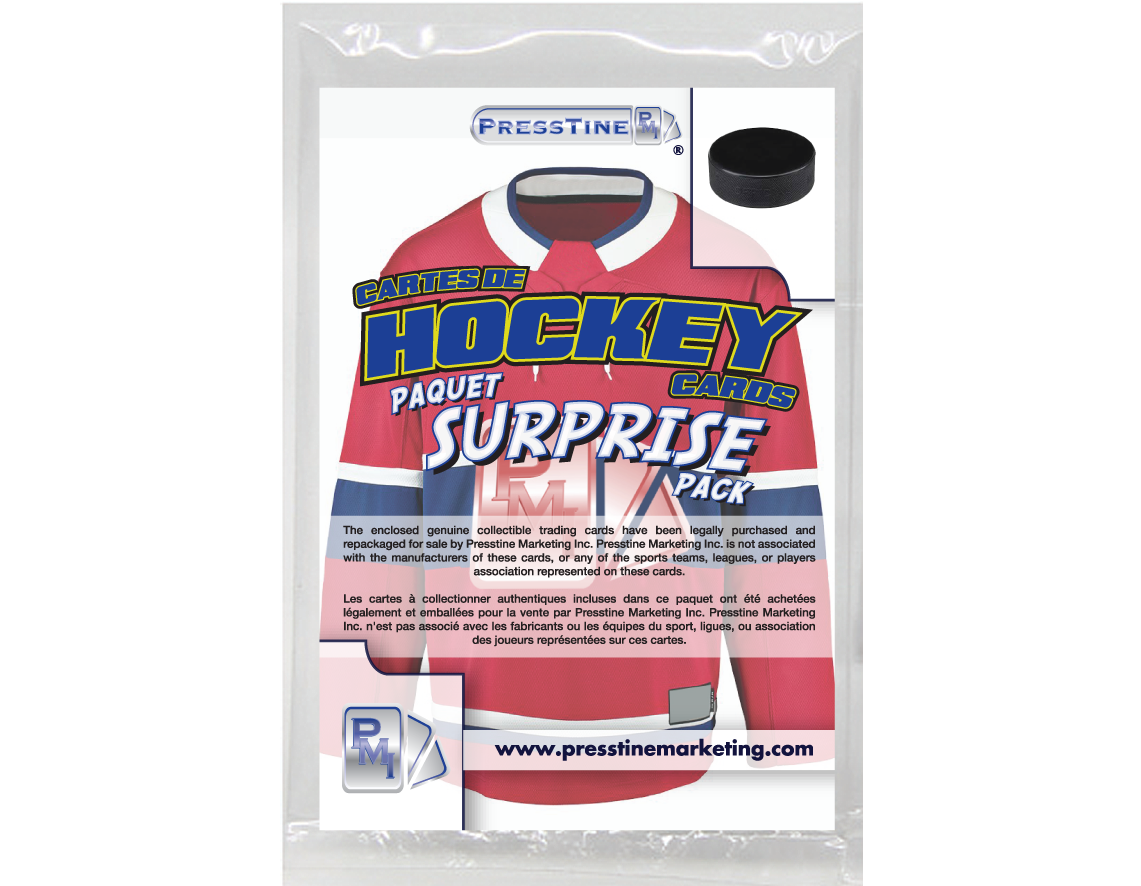 - Presstine Hockey Surprise Pack