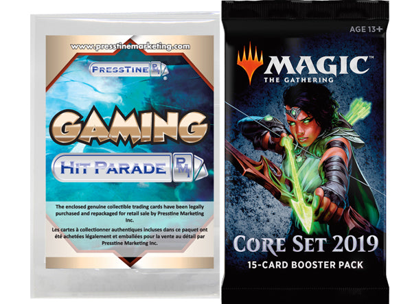 - Presstine Hit Parade Magic The Gathering Core Set 2019 Edition