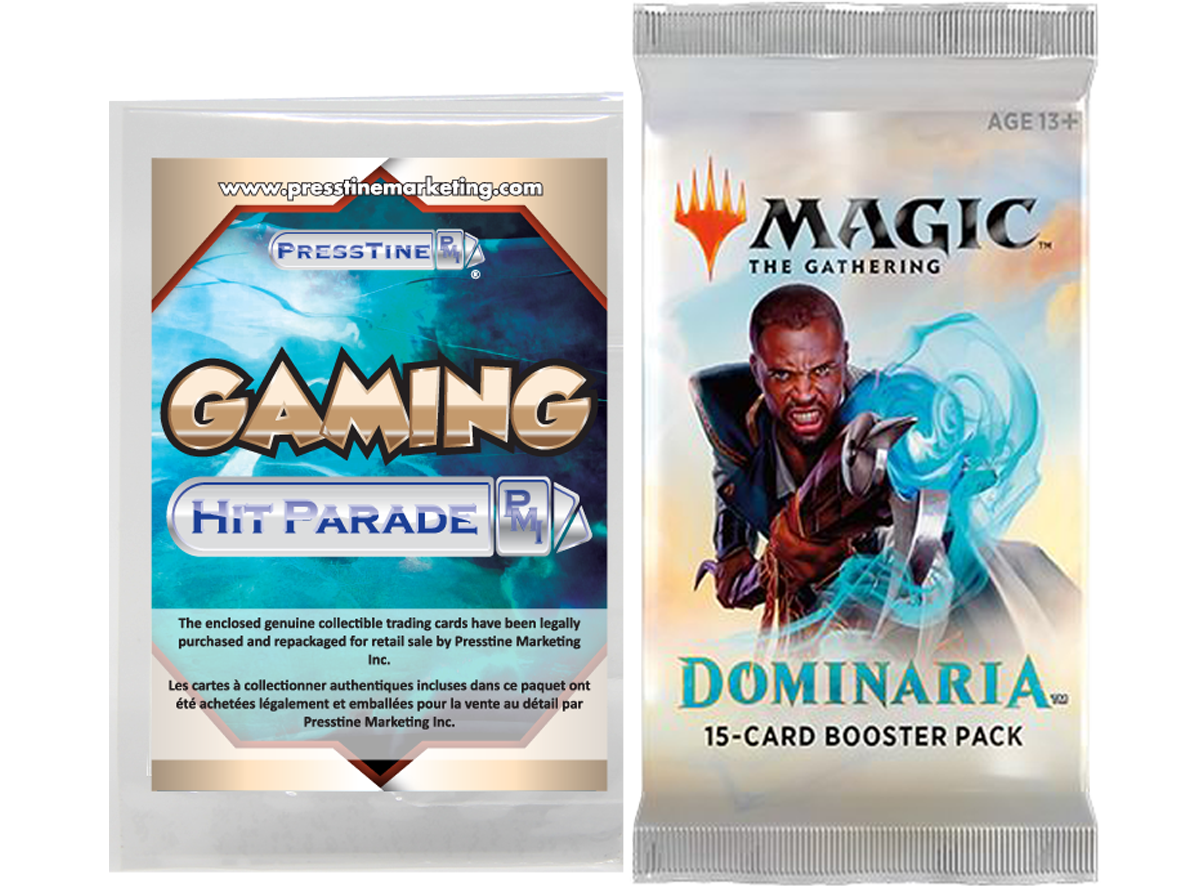 Presstine Hit Parade Magic The Gathering Dominaria Edition