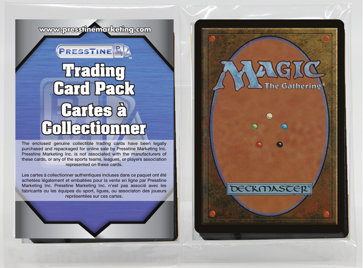 - Magic The Gathering 110 Card Presstine Pack