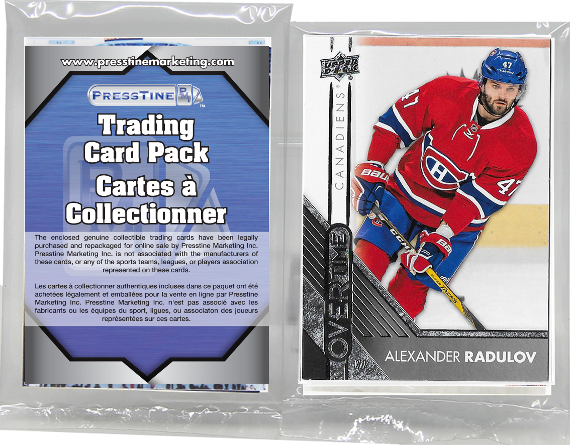 - Hockey 10 Card Canadian Teams Franchise Presstine Packs