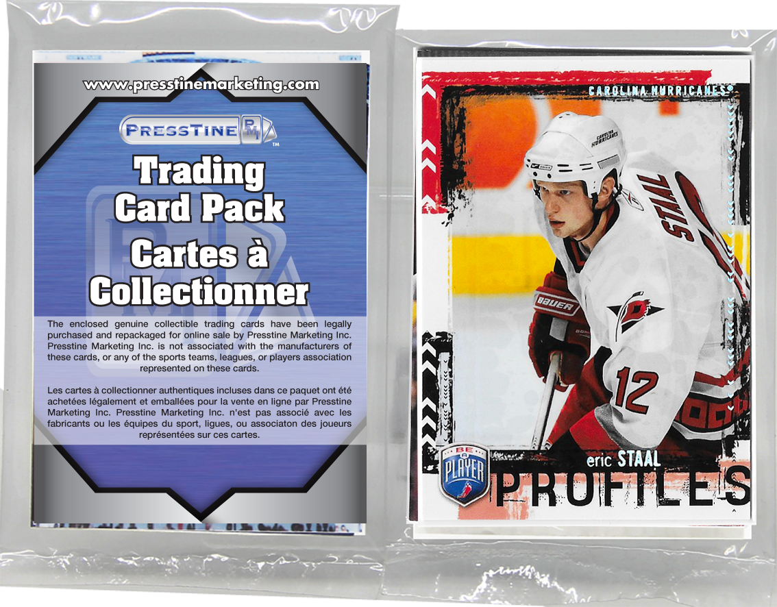- Hockey 15 Card Elite Presstine Pack