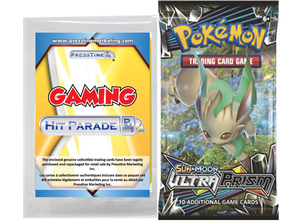 Limited Edition - Presstine Hit Parade Pokemon Sun and Moon Ultra Prism Edition