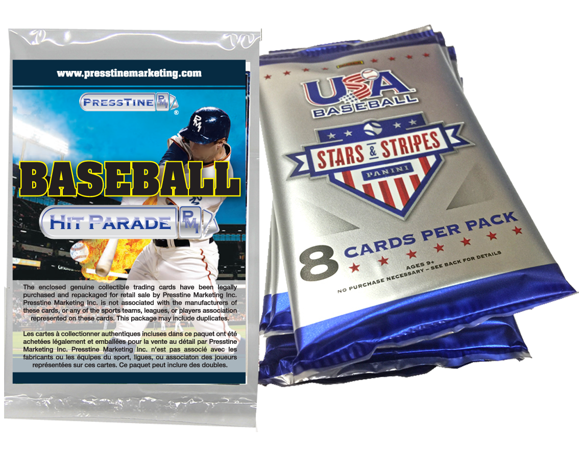 - Presstine Baseball Hit Parade 2018 Panini Baseball Stars and Stripes Edition