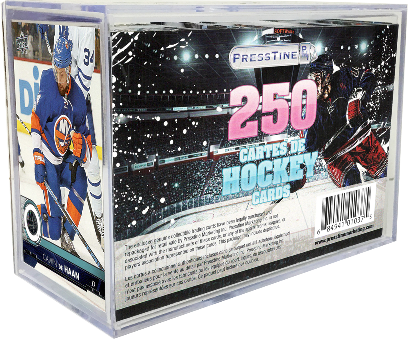 - Hockey 250 Card Presstine Cube