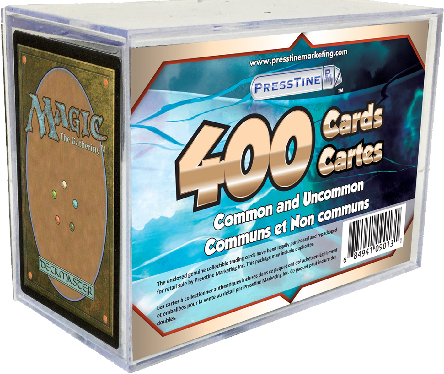 - Magic the Gathering 400 Card Presstine Cube