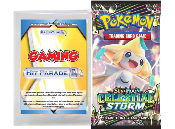 Limited Edition - Presstine Hit Parade Pokemon Sun and Moon Celestial Storm Edition