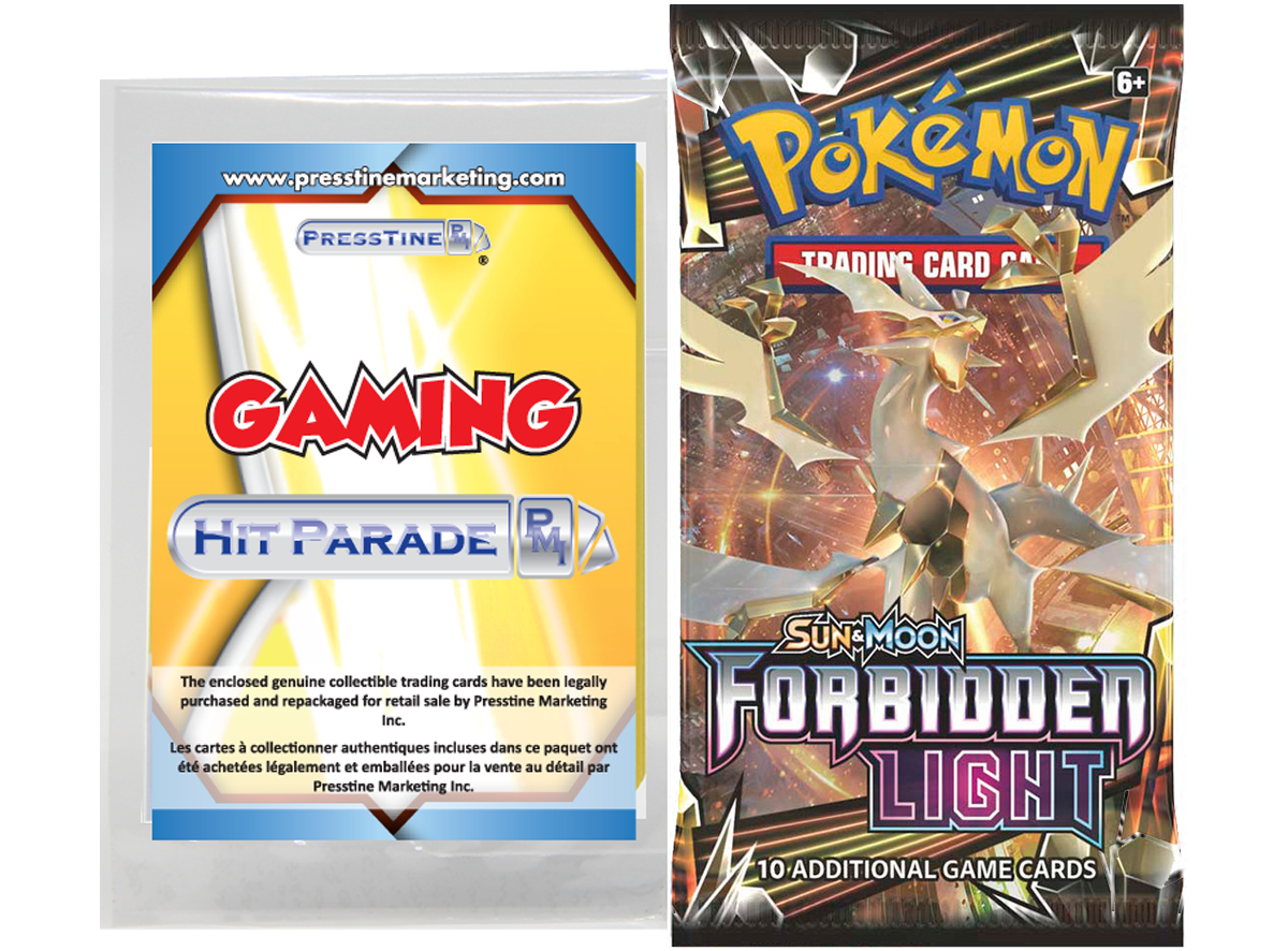 Limited Edition - Presstine Hit Parade Pokemon Sun and Moon Forbidden Light Edition