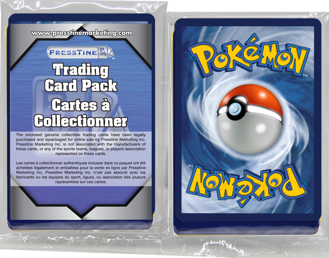 - Pokemon 110 Card Presstine Pack