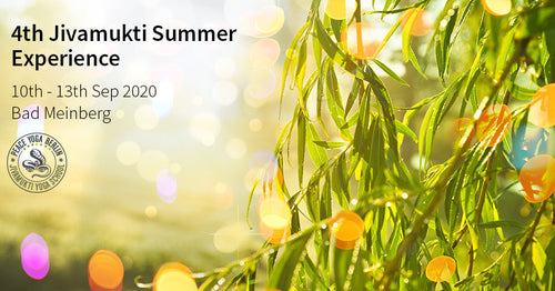 4th Annual Jivamukti Summer Experience 2020 - LATE EARLY BIRD 207€