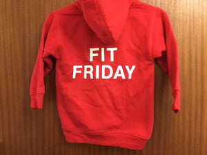 Fit Friday Hooded Sweatshirt with South Wootton Infants embroidery