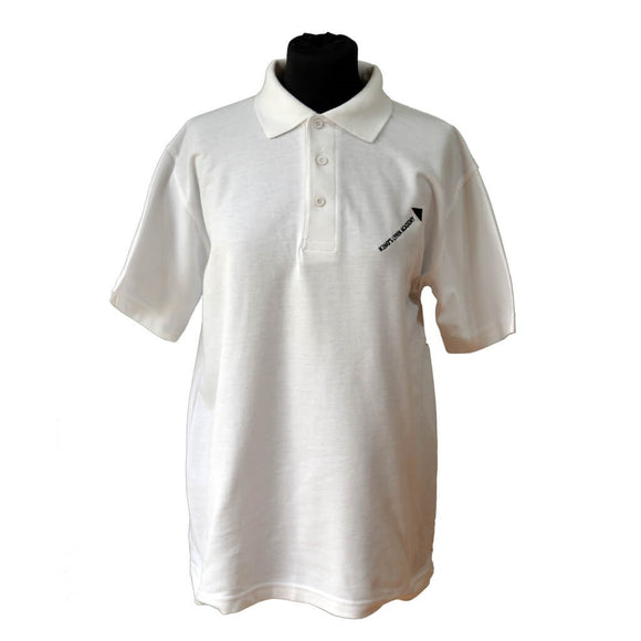 White PE Polo Shirt with KLA embroidery