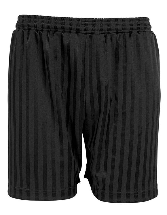 Black Plain Shadow Shorts ( South Wootton Junior)
