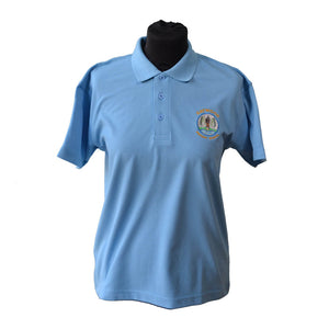 Sky Polo Shirt with Gaywood embroidery