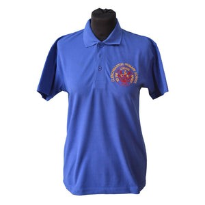 Polo Shirt with Clenchwarton embroidery
